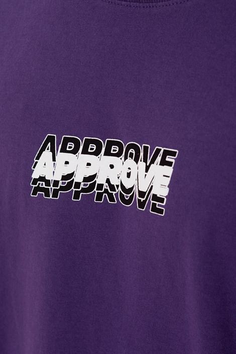 Camiseta Approve Liquid Roxa