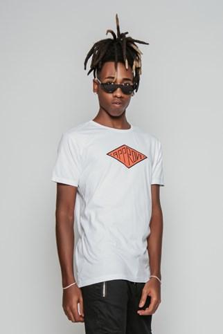 Camiseta Approve Losango Branca