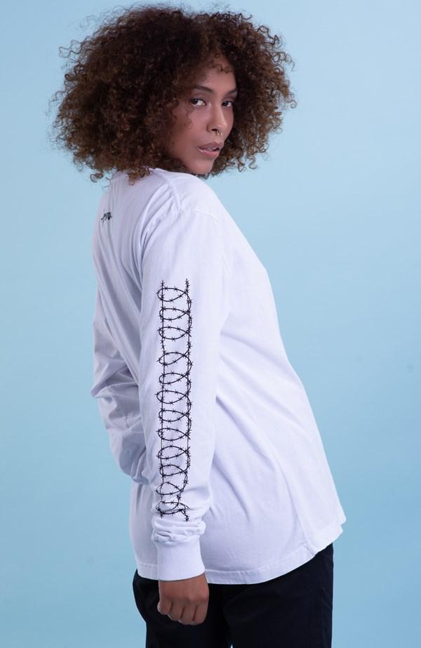 Camiseta Approve Manga Longa X El Castro Branca
