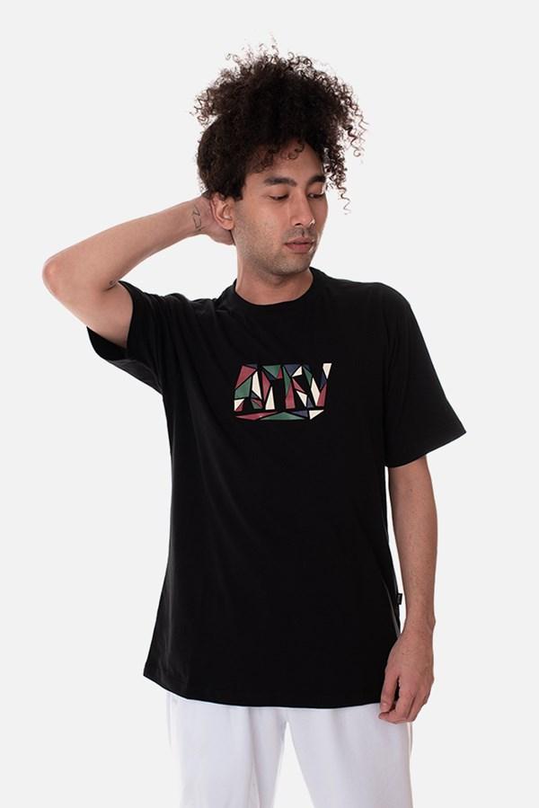 Camiseta Approve Mosaico Preta