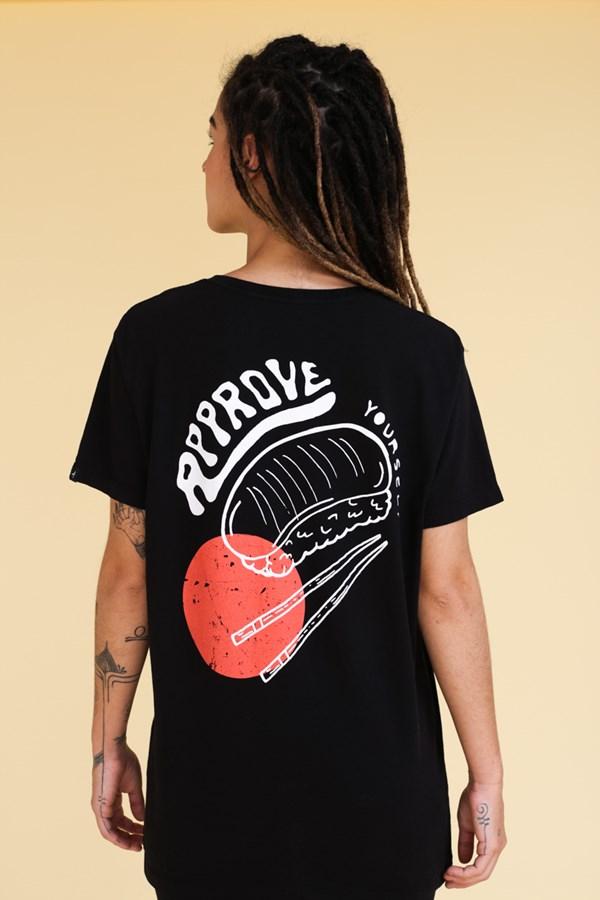 Camiseta Approve Niguiri Preta