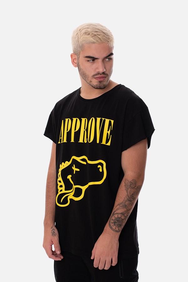 Camiseta Approve Nirvana Preta