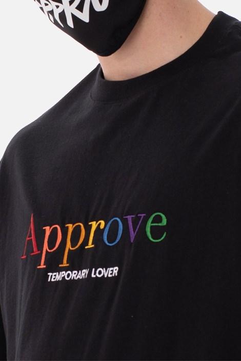 Camiseta Approve Rainbow Preta