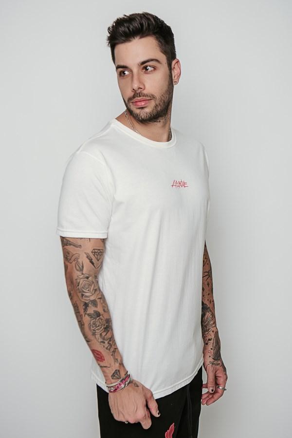 Camiseta Approve Rockstargang Off White
