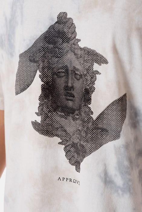 Camiseta Approve Ruínas Medusa Branca Marmorizada