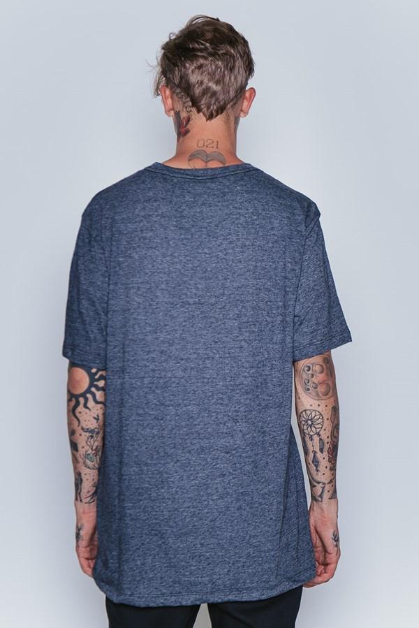 Camiseta Approve Smoke Cinza Mescla Escuro