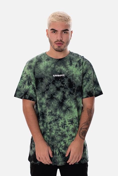 Camiseta Approve Tie Dye Acid Verde