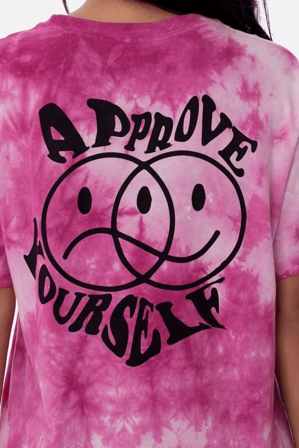 Camiseta Approve Tie Dye Purple Cloud Roxa