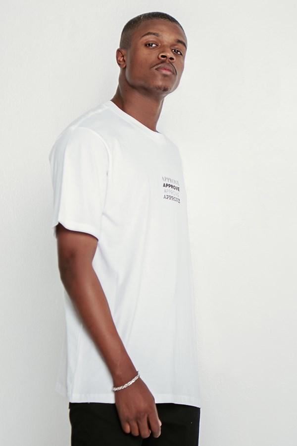 Camiseta Approve Tipos Branca