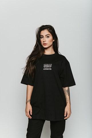 Camiseta Approve Tipos Preta