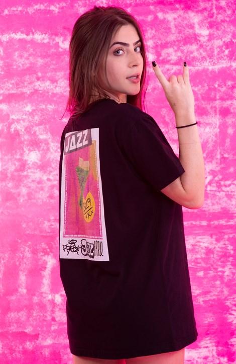 Camiseta Approve X Jazz 7Resh Preta