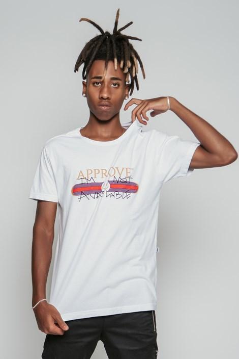Camiseta Approve X Lp Branca