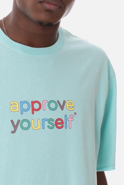 Camiseta Approve Yourself Comic Azul