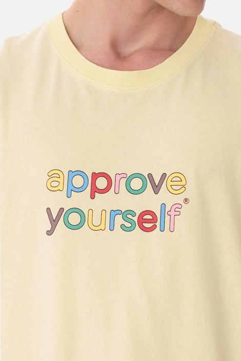 Camiseta Approve Yourself Comic Verde