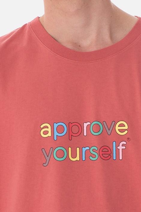 Camiseta Approve Yourself Comic Vermelha