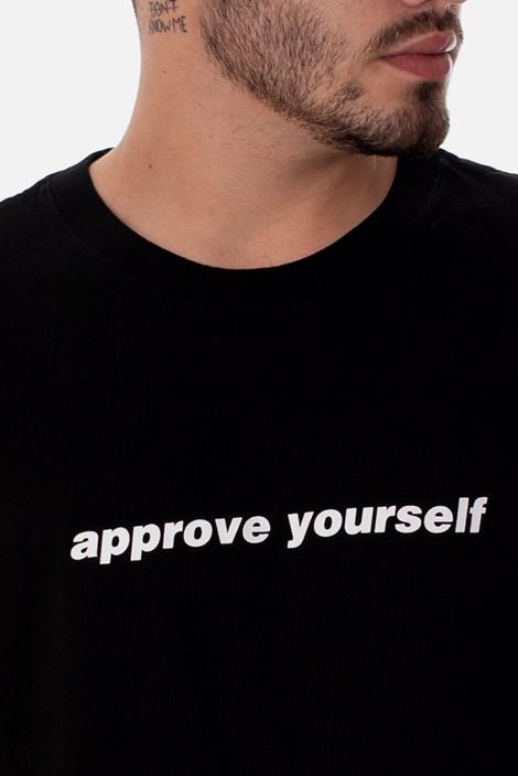 Camiseta Approve Yourself Preta