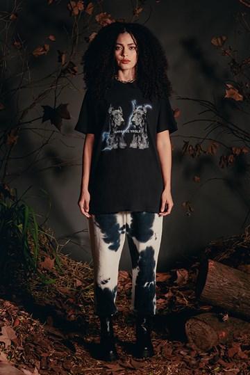 Camiseta Bold Approve Animals Dobermann Preta