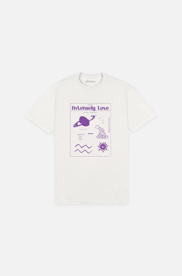 Camiseta Bold Approve Aquarius Off White