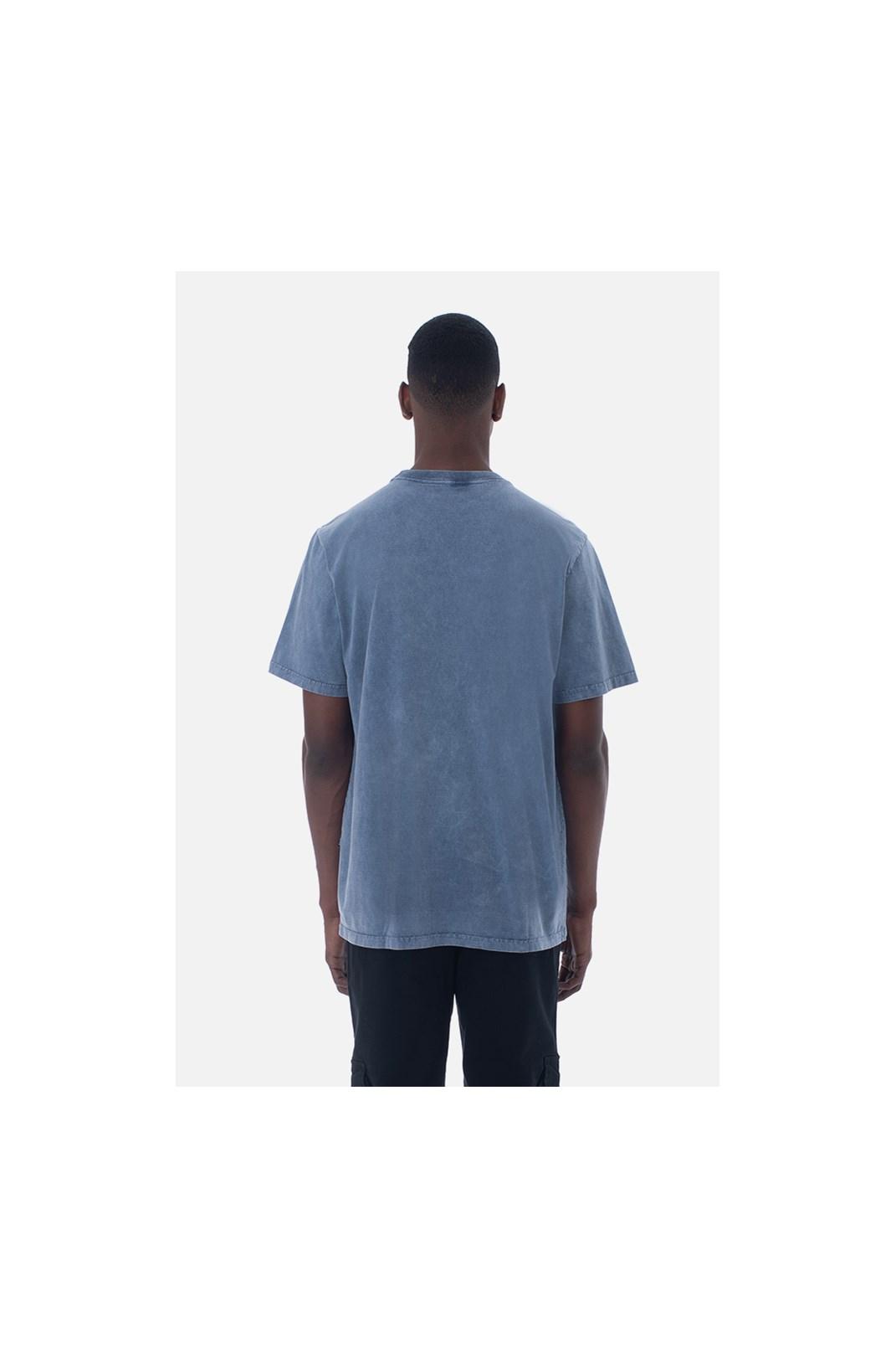Camiseta Bold Approve Basic Azul Estonado