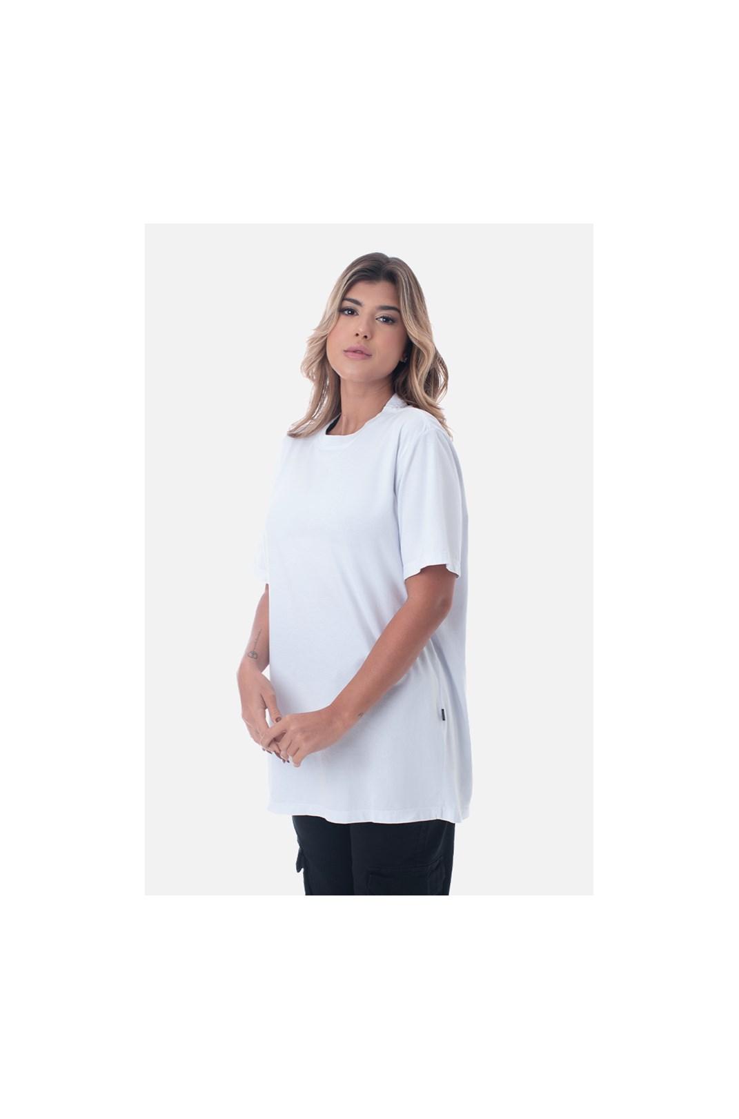 Camiseta Bold Approve Basic Branca