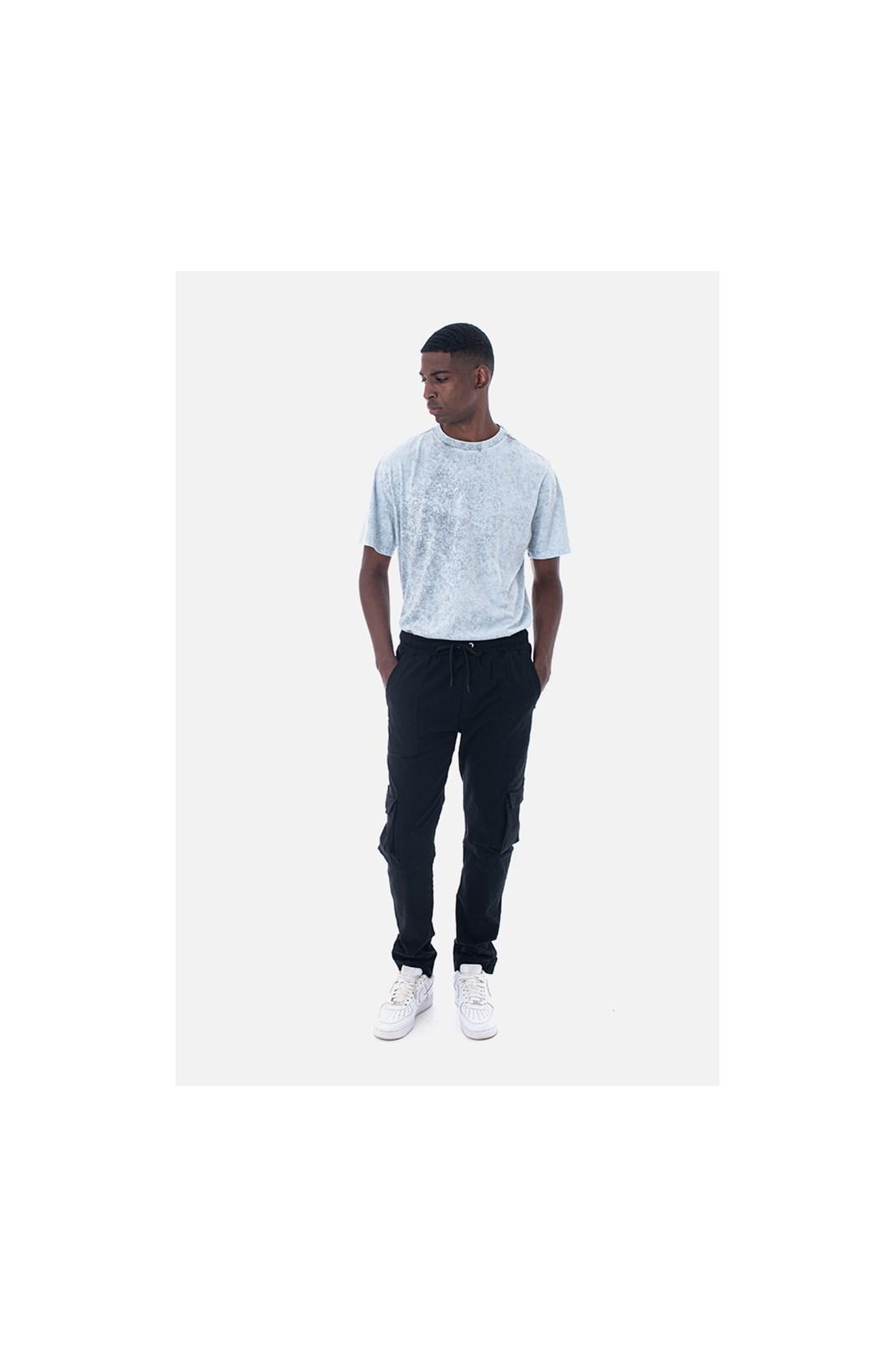 Camiseta Bold Approve Basic Branca Marmorizado