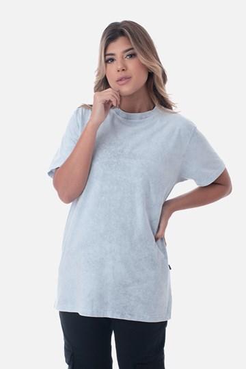 Camiseta Bold Approve Basic Cinza Marmorizado