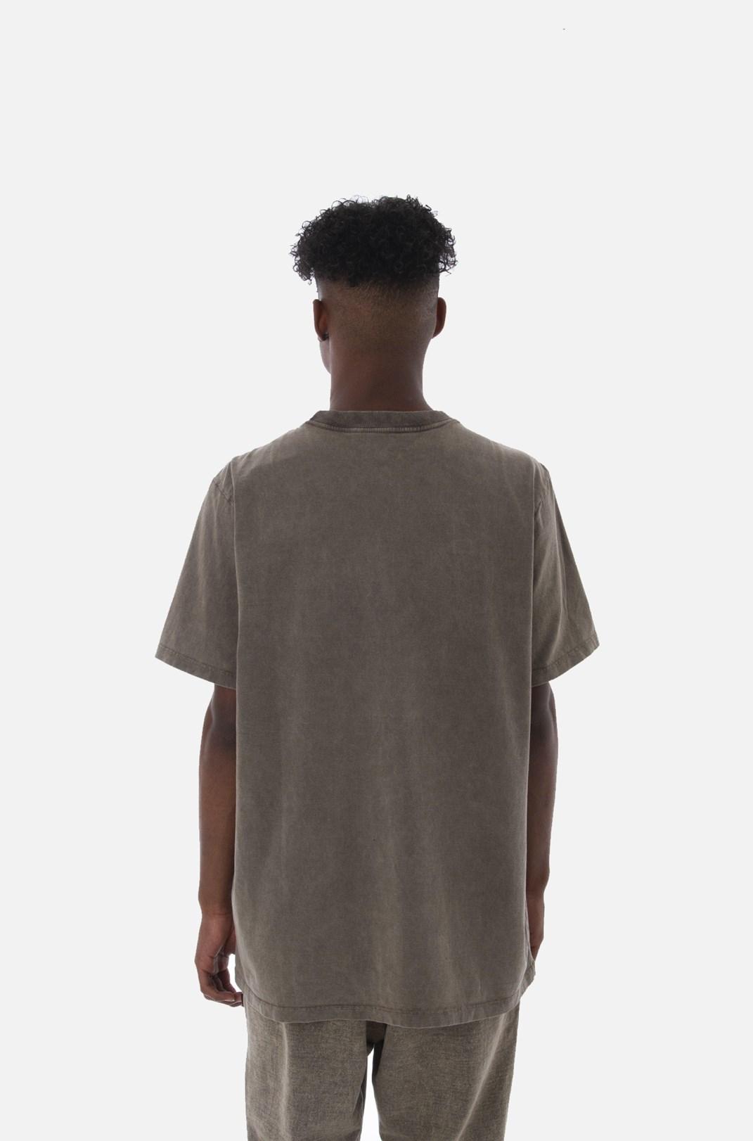 Camiseta Bold Approve Basic Marrom Estonado
