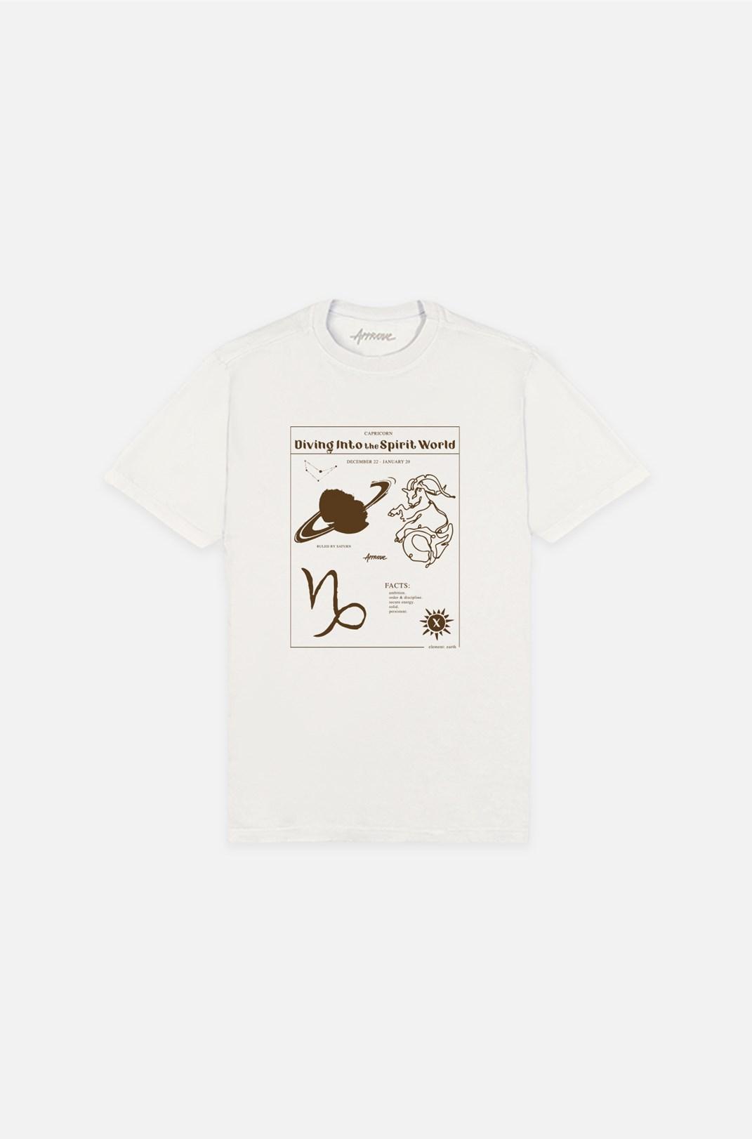 Camiseta Bold Approve Capricorn Off White