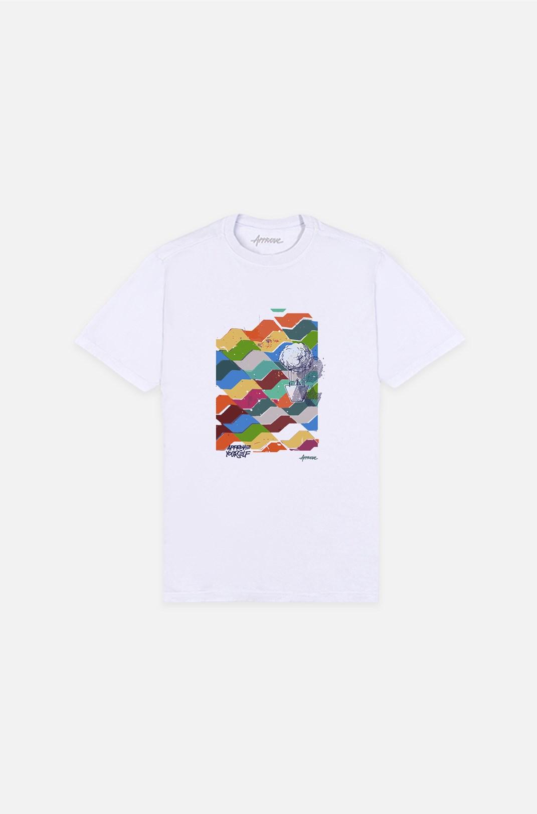 Camiseta Bold Approve Cusco Paper Branca