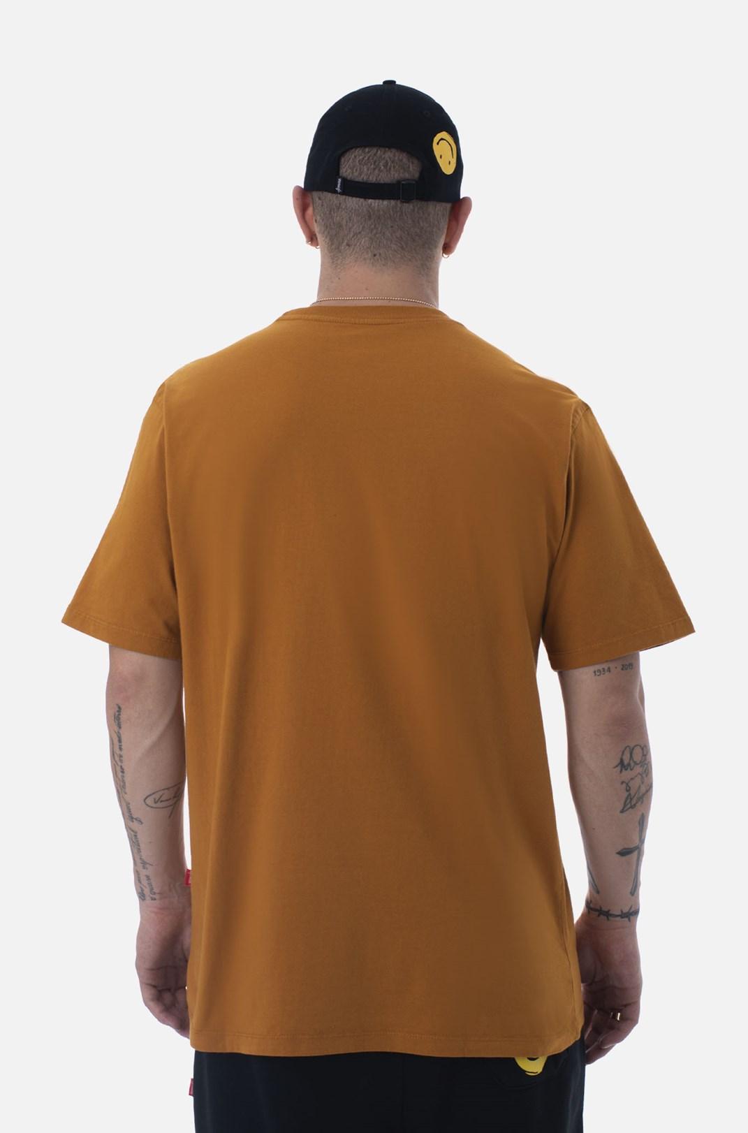 Camiseta Bold Approve Doodle Laranja