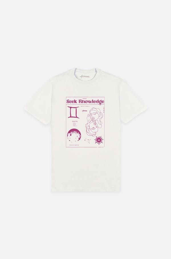 Camiseta Bold Approve Gemini Off White