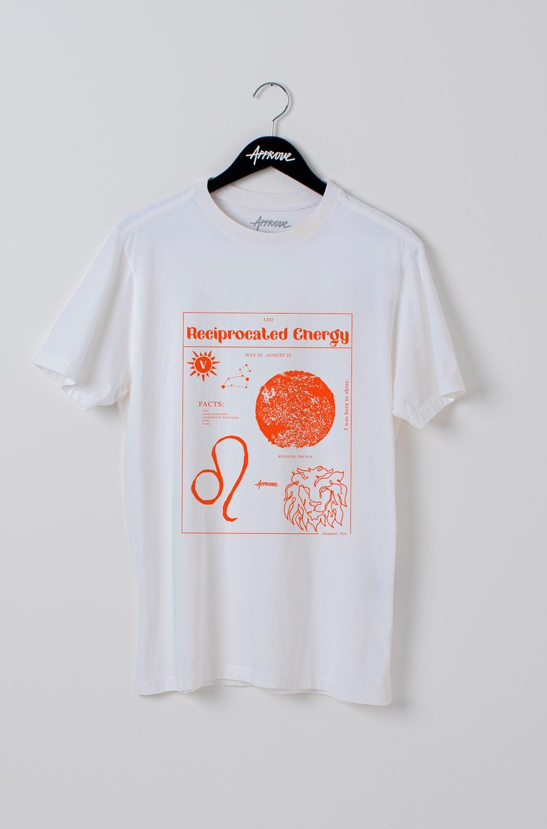 Camiseta Bold Approve Leo Off White