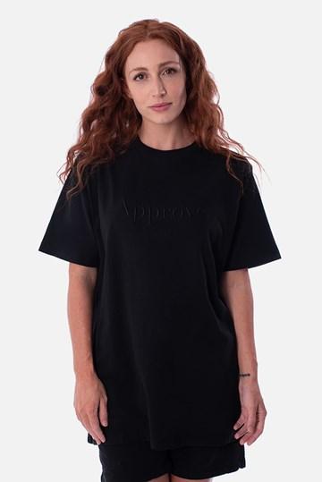 Camiseta Bold Approve Monochromatic Preta
