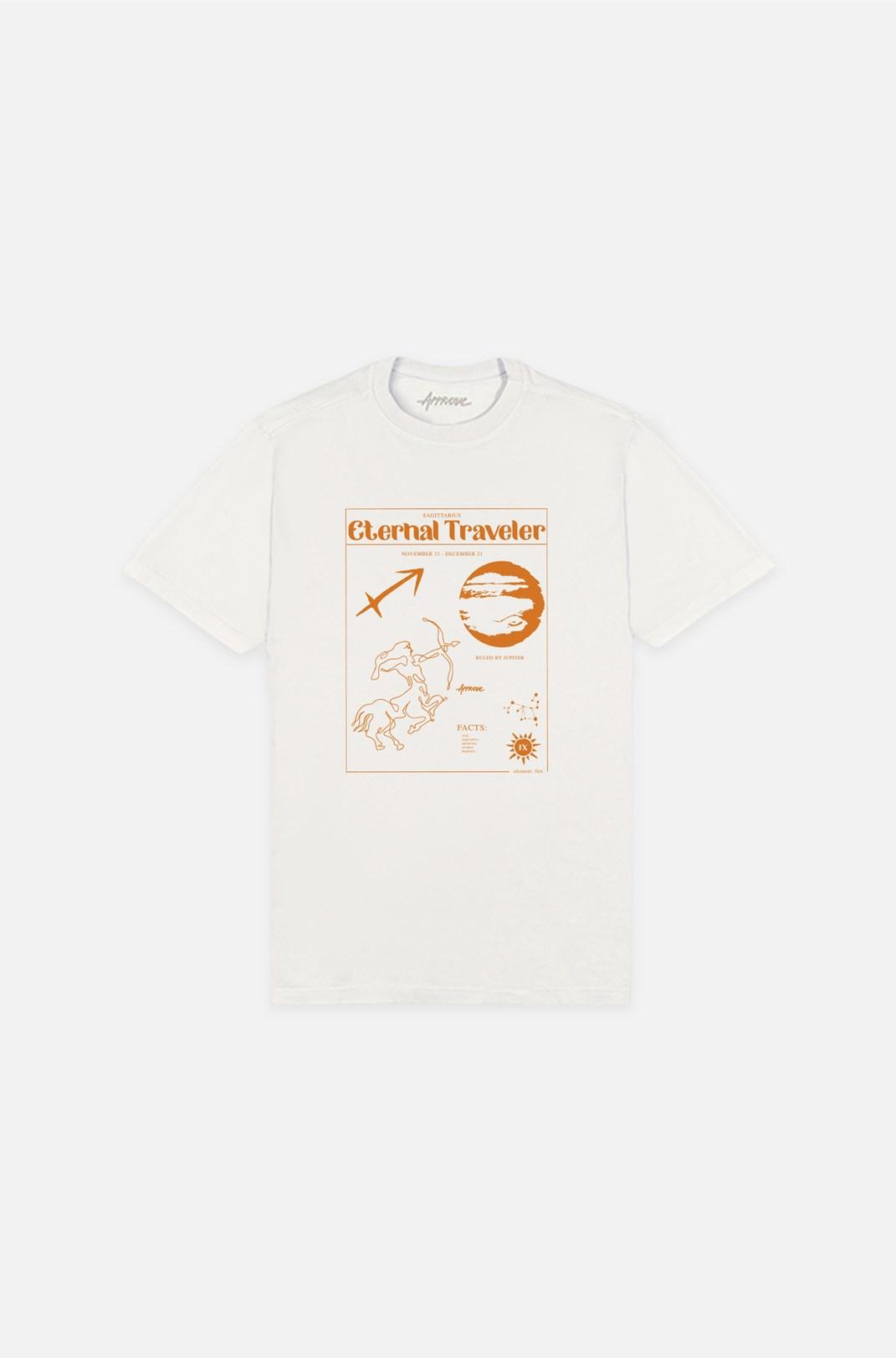Camiseta Bold Approve Sagittarius Off White