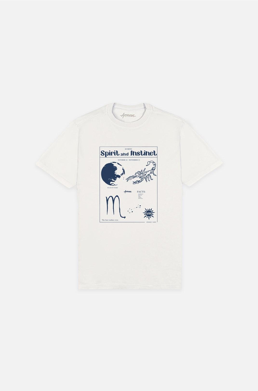 Camiseta Bold Approve Scorpio Off White