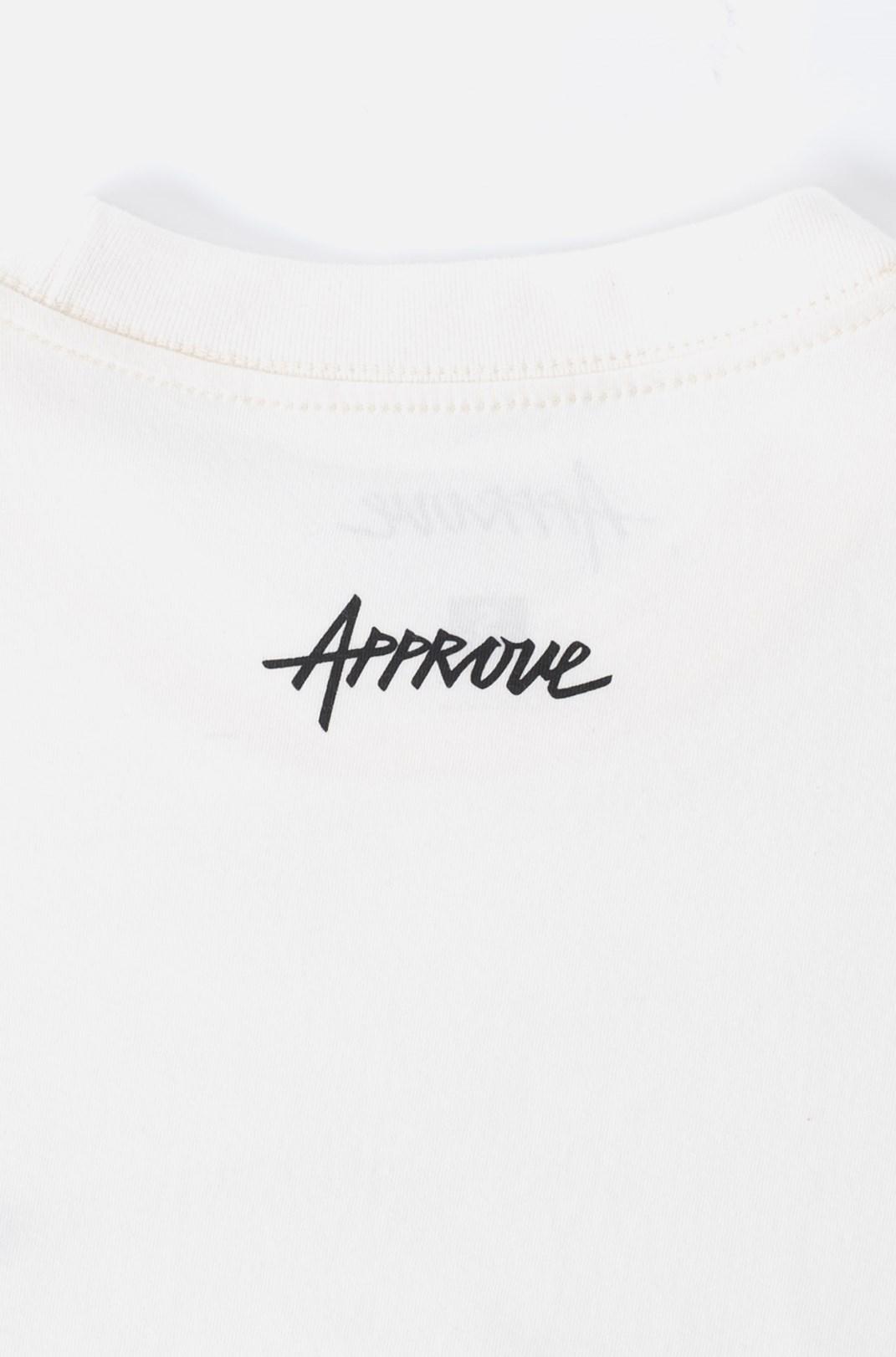 Camiseta Bold Approve Workwear Off White