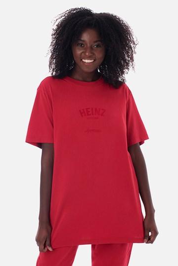 Camiseta Bold Approve X Heinz Vermelha