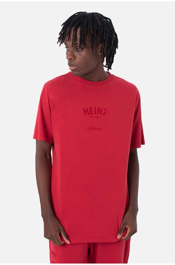 Produto Camiseta Bold Approve X Heinz Vermelha