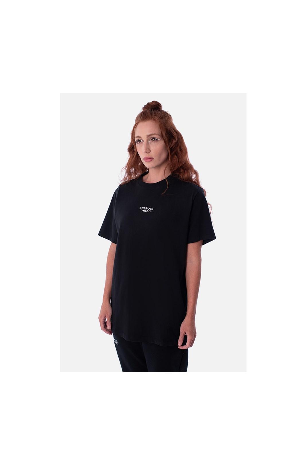 Camiseta Bold Approve Yrslf Preta