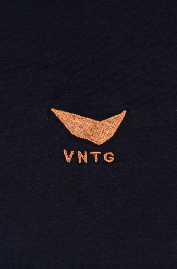 Camiseta Bold Vntg Preta