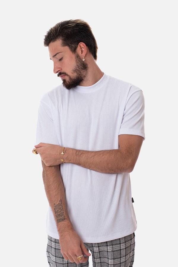 Camiseta Canelada Approve Canvas Branca