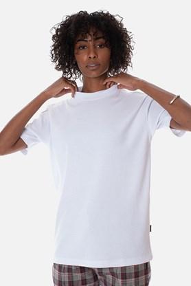Produto Camiseta Canelada Approve Canvas Branca