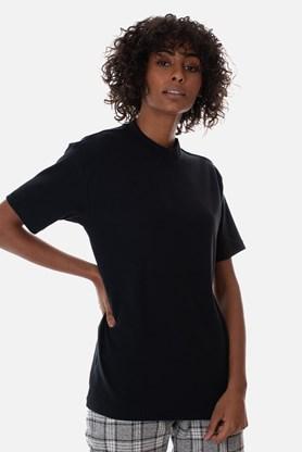 Produto Camiseta Canelada Approve Canvas Preta