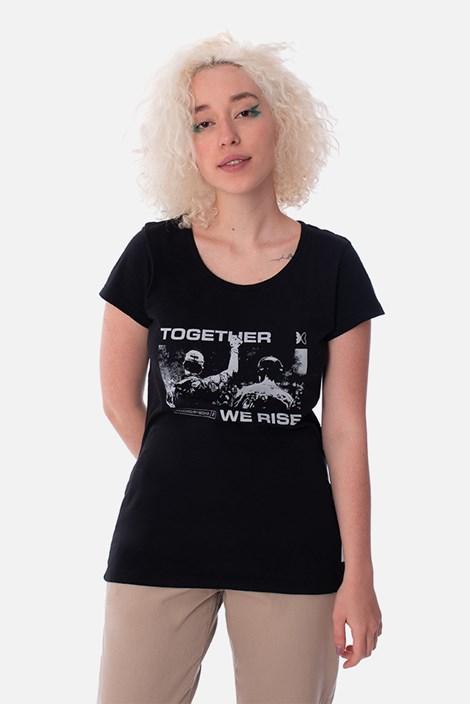 Camiseta Feminina Green Valley Together We Rise Preta