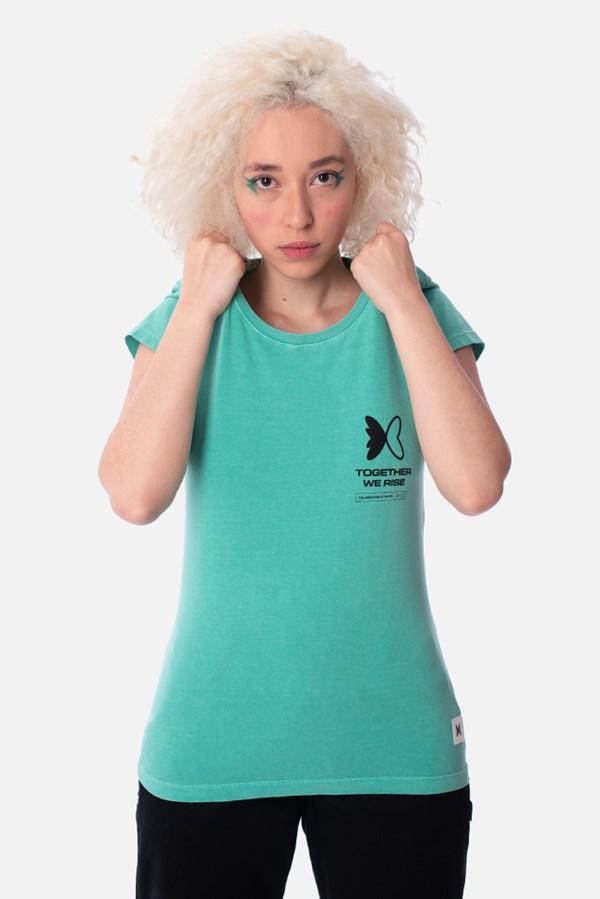 Camiseta Feminina Green Valley Unlocked Verde