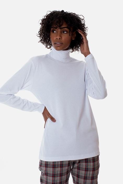 Camiseta Gola Alta Approve Canvas Branca