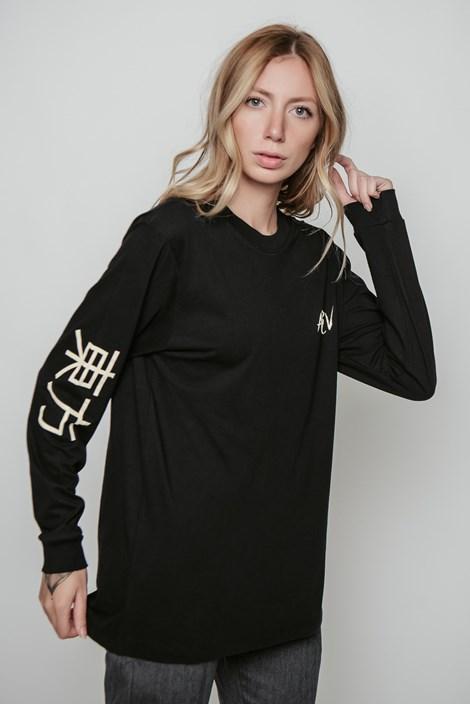 Camiseta Manga Longa Approve Tigre Oriental Preta