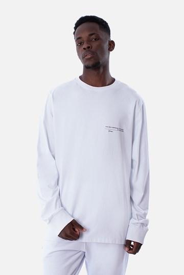Camiseta Manga Longa Approve Yrslf Branca