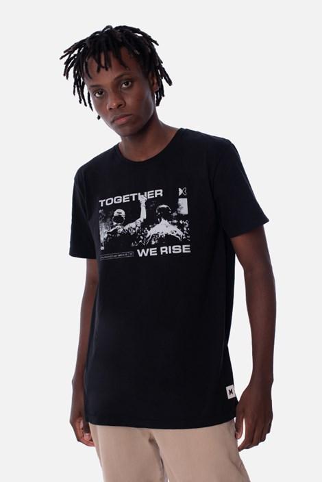 Camiseta Masculina Green Valley Together We Rise Preta