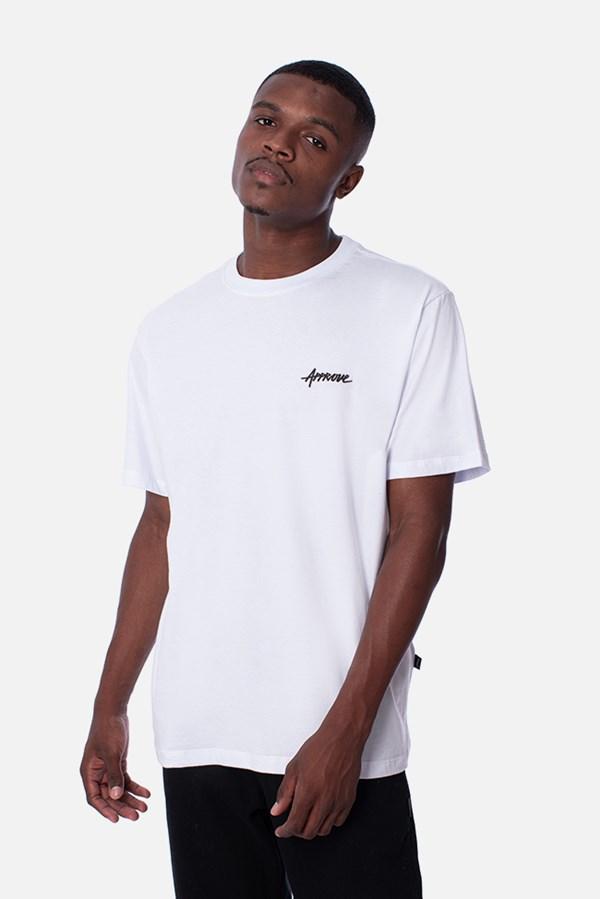 Camiseta Regular Approve Basic Branca